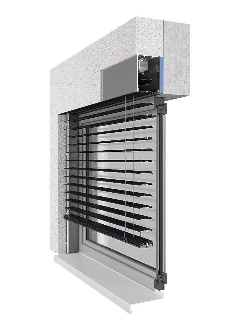 żaluzje fasadowe Z90 BOX